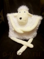 Подушка-игрушка Овечка