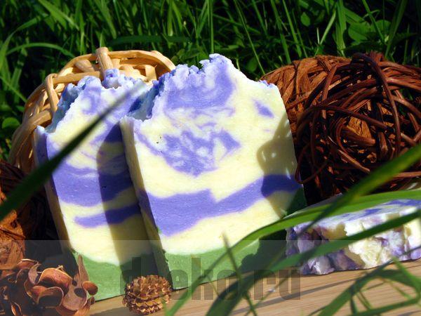 Натуральное мыло ручной работы Лаванда