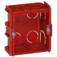 Монтажная коробка Legrand Batibox 1п гл.40мм для кирпичных стен (Арт. 80141)