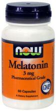 Мелатонин 3 мг 60 капсул