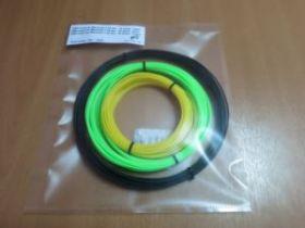 Комплект ABS-Пластика для 3D ручек Myriwell 1.75 мм, (зеленый, желтый, черный)