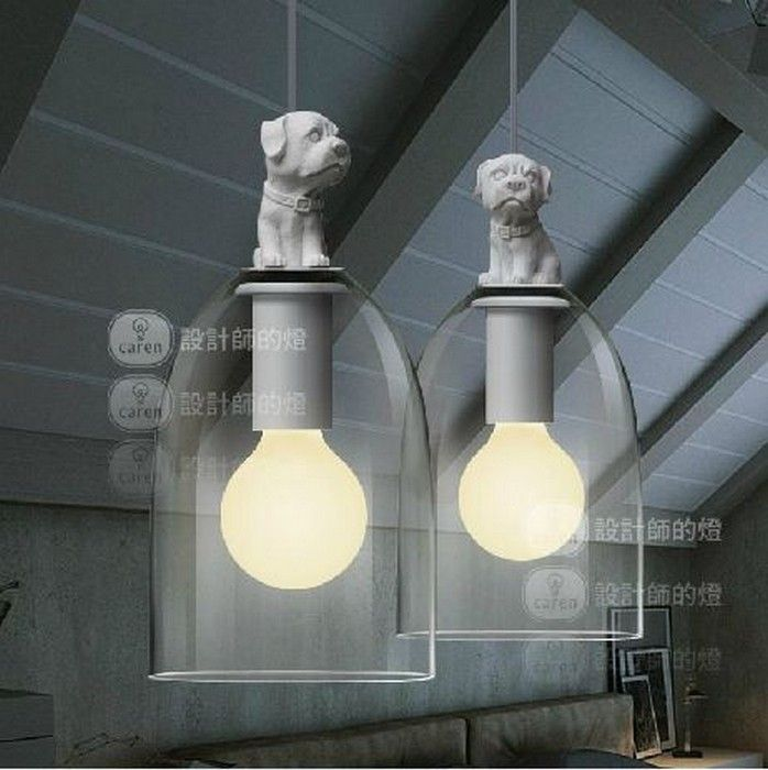 Потолочный светильник Собака