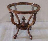 коктейльный стол деревянный