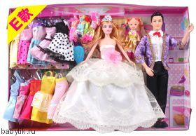 """Набор кукол """"Beautiful family"""""""