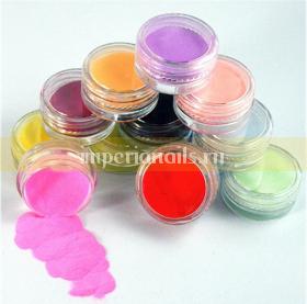 Цветной бархатный песок набор 12 шт .
