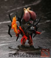купить фигурку персонажа engeful Spirit (Венга), Doom (Люцифер), Tiny (Тини), Slark (Сларк)
