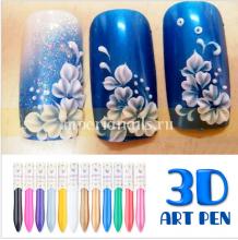 3D Акриловые краски набор 12 шт