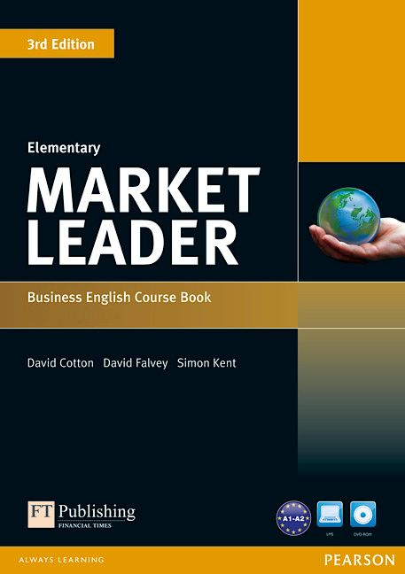 Market Leader 3rd Edition Elementary Course Book and DVD-ROM Pack