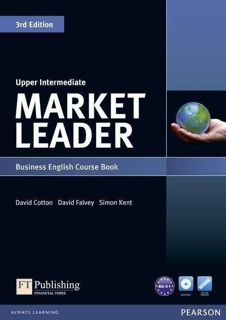 Market Leader 3rd Edition Upper Intermediate Course Book and DVD-ROM Pack