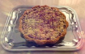 Пирог из песочного теста с вишневой начинкой (1000 г.)