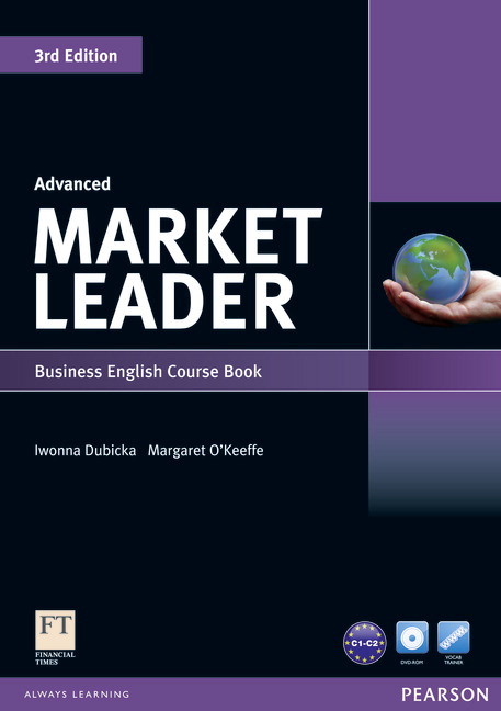 Market Leader 3rd Edition Advanced Course Book and DVD-ROM Pack