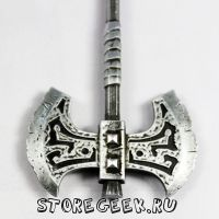 металлический брелок Axe