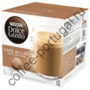 "Кофе ""Nescafe Dolce Gusto Cafe au Lait"" в капсулах"