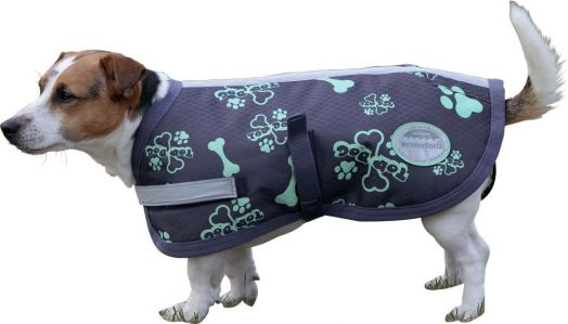 """Зимняя попона (пальто) для собак """"TOP DOG"""" на утеплителе 220 г/м"""