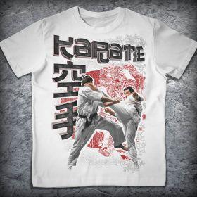 Футболка (WHITE) - KARATE