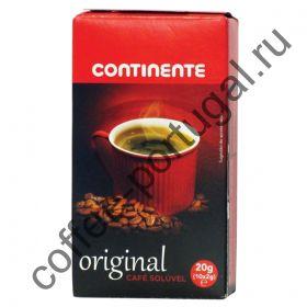 """Кофе растворимый """"Continente Original"""" 10 пакетов"""