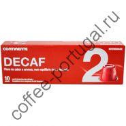 "Кофе ""Continente Decaf Espresso"" 10 капсул"
