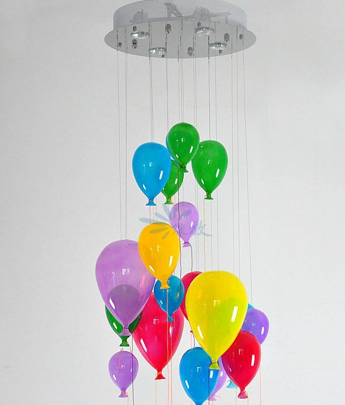 """Люстра для детской  """"Воздушные шары"""""""