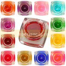 Витражные гели в стекле 12 шт