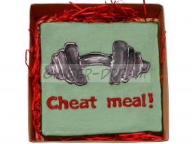 Оригинальные сладкие подарки Пряники «Cheat meal»