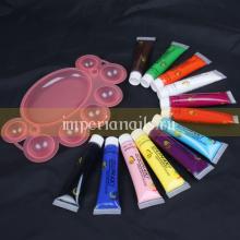 Набор акриловые краски и палетка