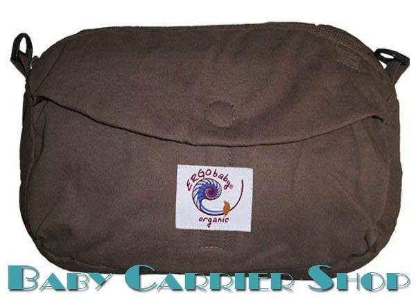 Дорожная поясная сумочка для слинг-рюкзака ERGO BABY «TRAVEL POUCH ORGANIC Dark Chocolate» [Эрго Беби LPO205 шоколад]