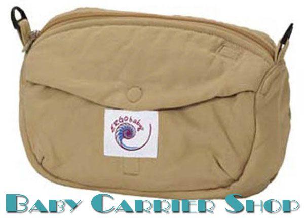Дорожная поясная сумочка для слинг-рюкзака ERGO BABY «TRAVEL POUCH ORIGINAL Camel» [Эрго Беби LP285 бежевая]