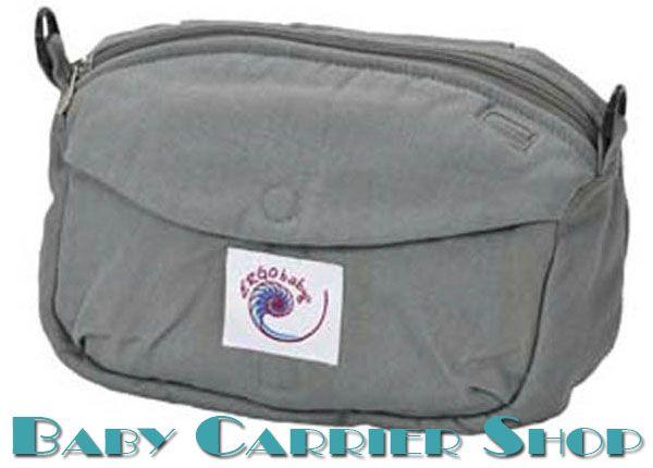 Дорожная поясная сумочка для слинг-рюкзака ERGO BABY «TRAVEL POUCH ORIGINAL Grey» [Эрго Беби LP035 серая]