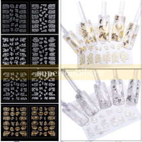 3D наклейки 24 упаковки набор