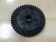 Шестерня пластиковая для электропилы Байкал (D=85мм, Н=20 мм, d=12,2мм)