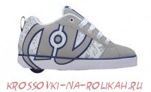 Роликовые кроссовки Heelys No Bones Reverse Tattoo 7666