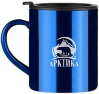 Термокружка Арктика 0,4 литра синяя