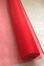 органза флористическая  ширина 70 см цвет КРАСНЫЙ   цена за метр