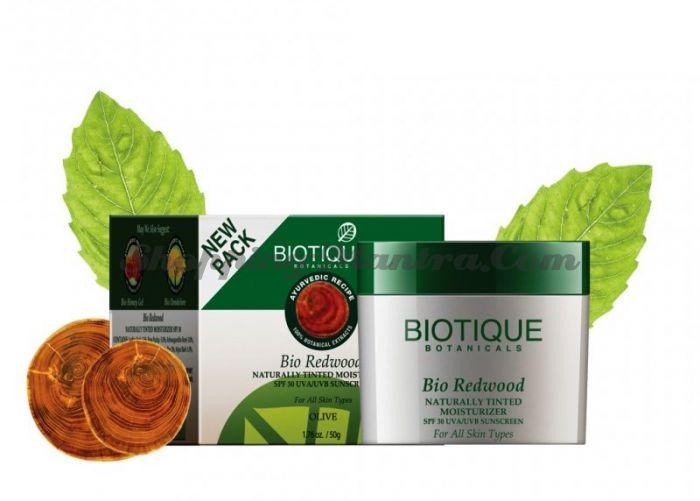 Увлажняющий крем для лица Биотик Красное дерево&Олив SPF 30 (Bio Red Wood Olive Moisturizer)