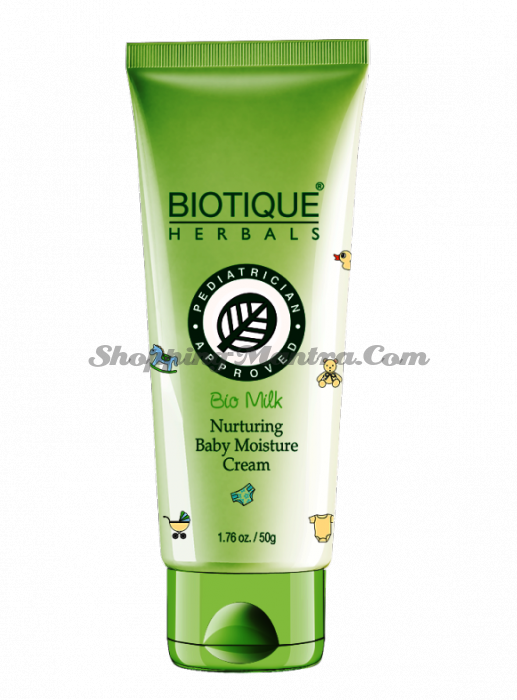 Увлажняющий детский крем Биотик Молоко | Biotique Bio Milk Moisturizing Baby Cream