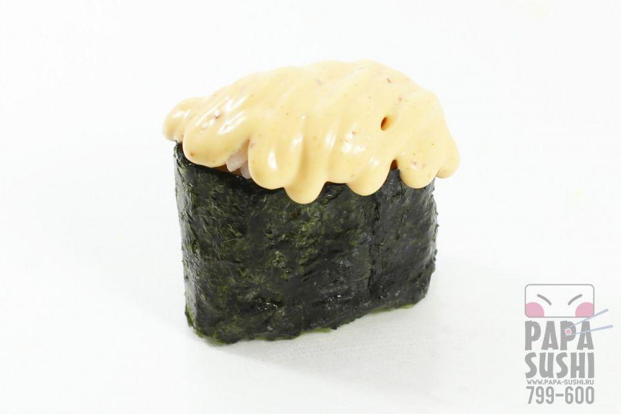 Спайс суши креветка