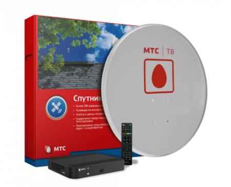 Комплекты МТС спутниковое ТВ