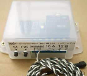 Терморегулятор ТР-12В (12вольт)