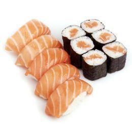 Мини сет с лососем