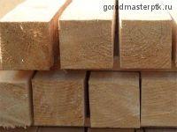Брус 100х100х6000 мм деловой (1-3 сорт) е/в хв/п
