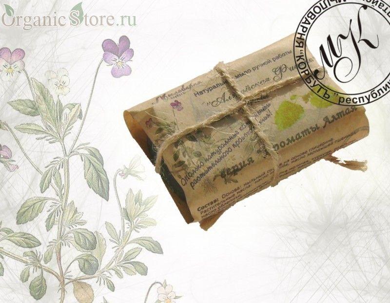 """Натуральное мыло """"Алтайская фиалка"""""""