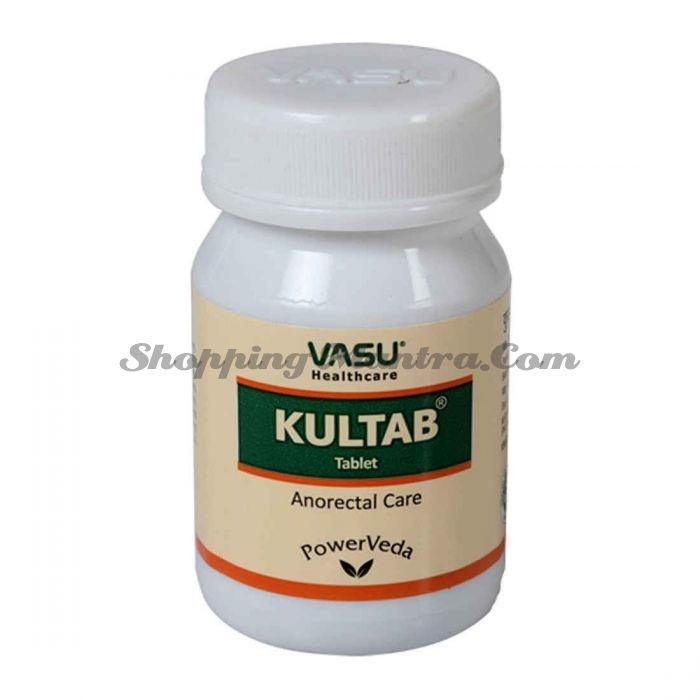 Препарат против геморроя Васу / Vasu Healthcare Kultab Tablets