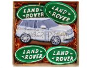 Имбирные пряники в наборе «Land Rover» Брендированные пряники