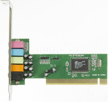 Звуковая карта PCI C-media 8738, 5.1, oem