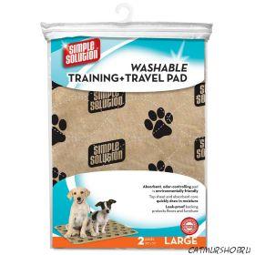 Simple Solution Washable Training & Travel Pad - впитывающие многоразовые пеленки - 2 шт.