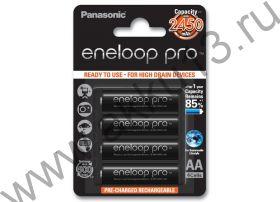 Panasonic Eneloop Pro AA (BK-3HCCE-4BE 2450mAh)