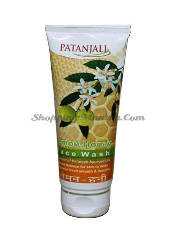 Гель для умывания Лимон Мед Патанджали Аюрведа | Divya Patanjali Lemon Honey Facewash