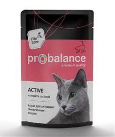 ProBalance Active д/кошек. 85г