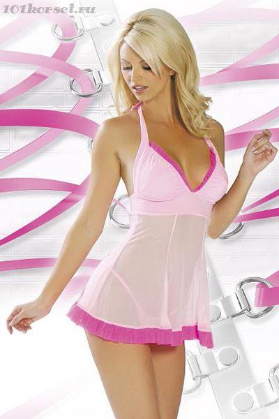 Розовая сорочка.