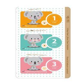 Mijin 3-Step Koala Nose Clear Solution - Набор от черных точек